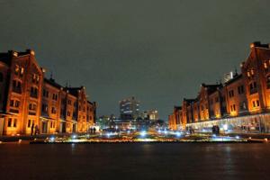 赤レンガ倉庫の夜景