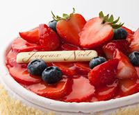 イル・プルー・シュル・ラ・セーヌのクリスマスケーキ