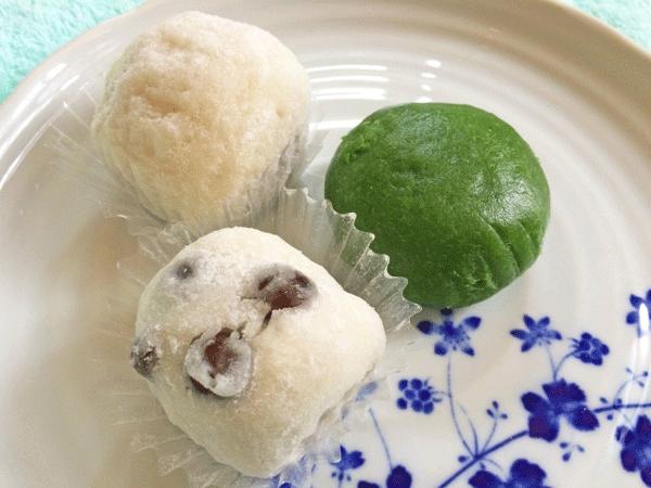 和菓子の写真
