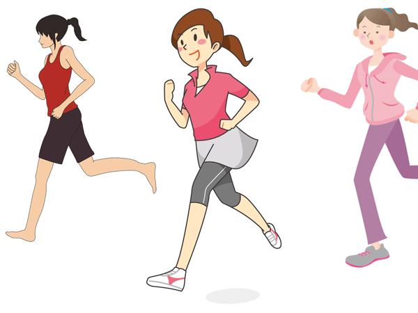マラソン女子