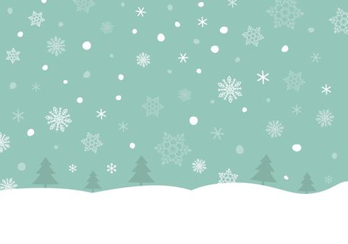 雪のイラスト
