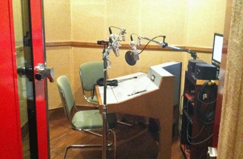 声優さんの職場
