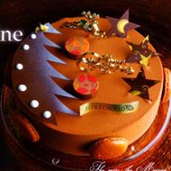 エコール・クリオロのクリスマスケーキ