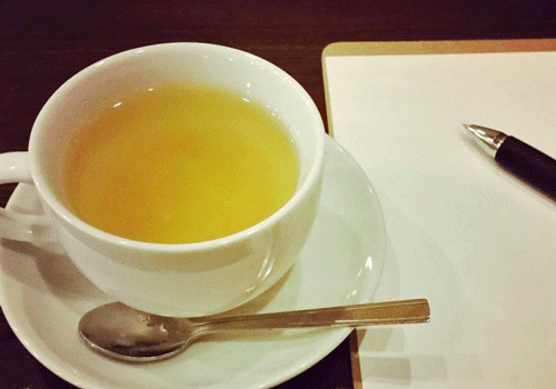 はちみつゆず茶のイメージ