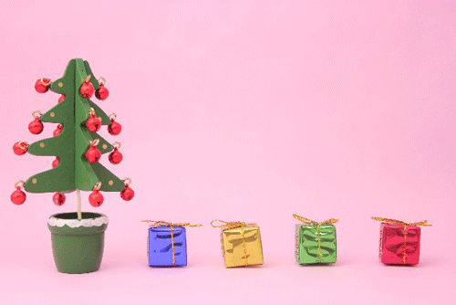 クリスマスツリーの工作