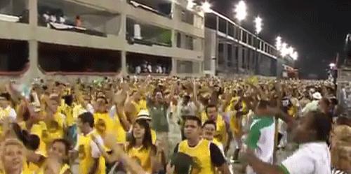 ブラジルのリオのカーニバル